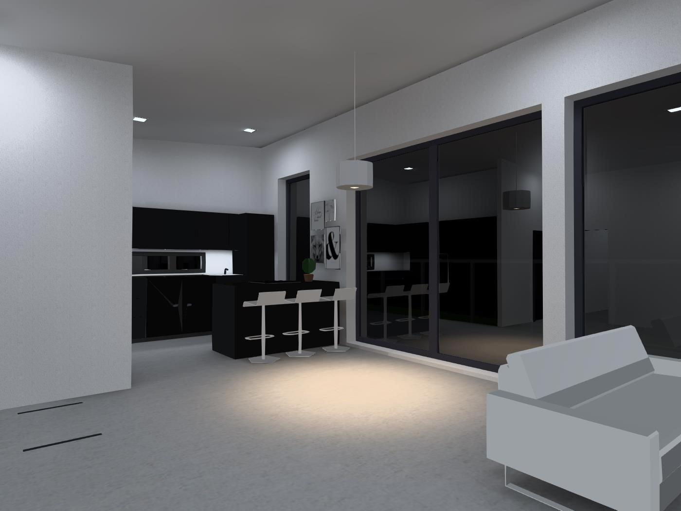 3D valaistussuunnittelu Sahkopalvelu Petri Hintsanen